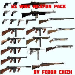 US WW2 WEAPON PACK